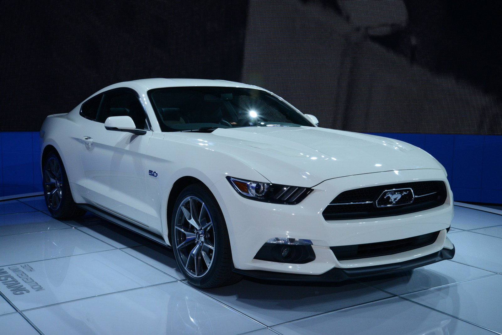 2015 ford mustang 50 year limited edition picture 549473 car review top speed. Black Bedroom Furniture Sets. Home Design Ideas