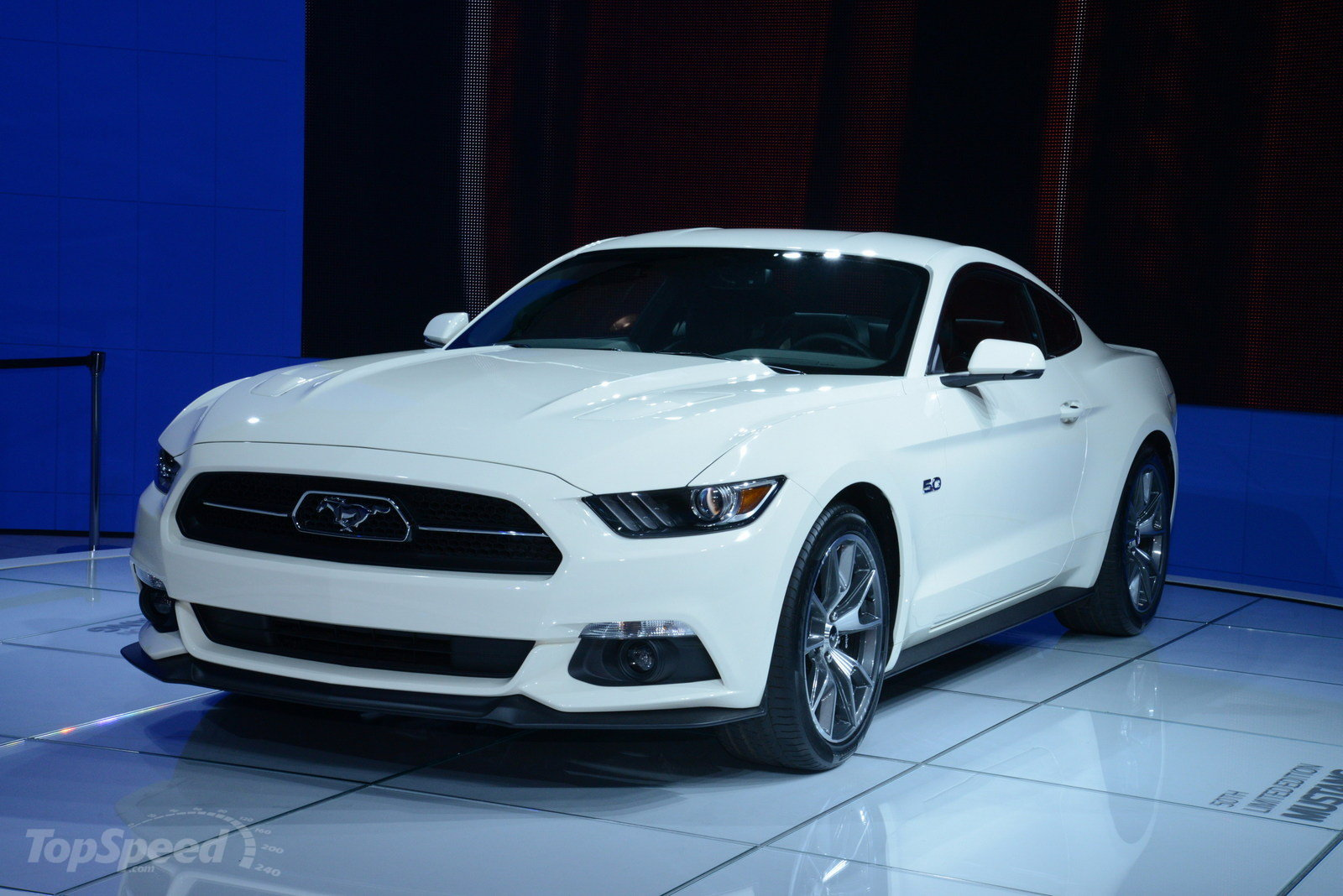 2015 ford mustang 50 year limited edition picture 549474 car review top speed. Black Bedroom Furniture Sets. Home Design Ideas