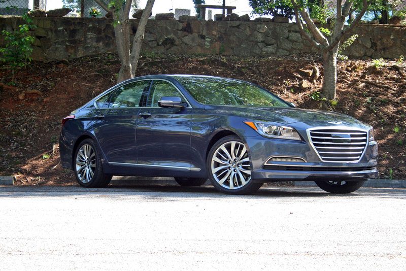 2015 Hyundai Genesis - Driven High Resolution Exterior - image 550730