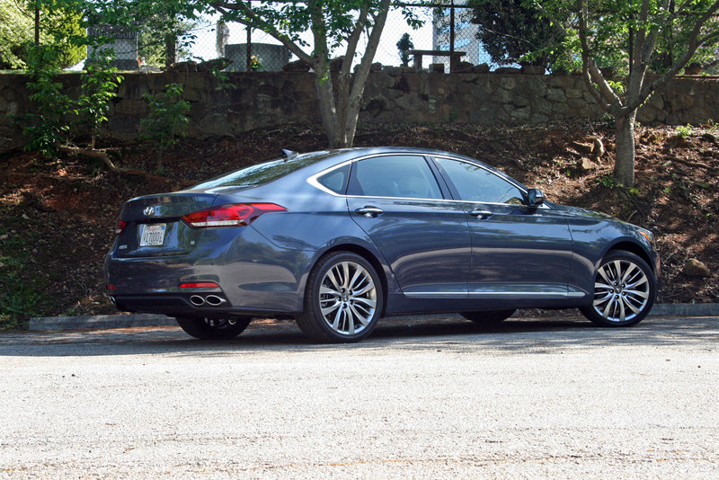 2015 Hyundai Genesis - Driven High Resolution Exterior - image 550734