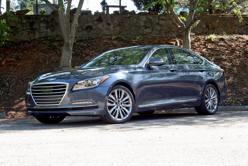 2015 Hyundai Genesis - Driven High Resolution Exterior - image 550725