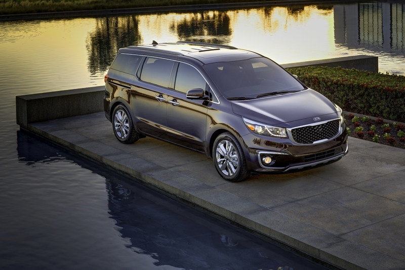 2015 Kia Sedona High Resolution Exterior - image 548812