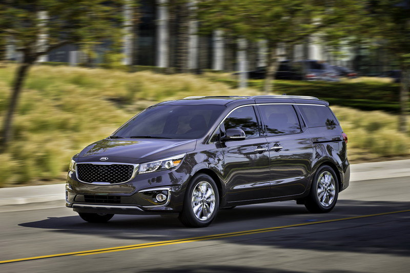 2015 Kia Sedona High Resolution Exterior - image 548816