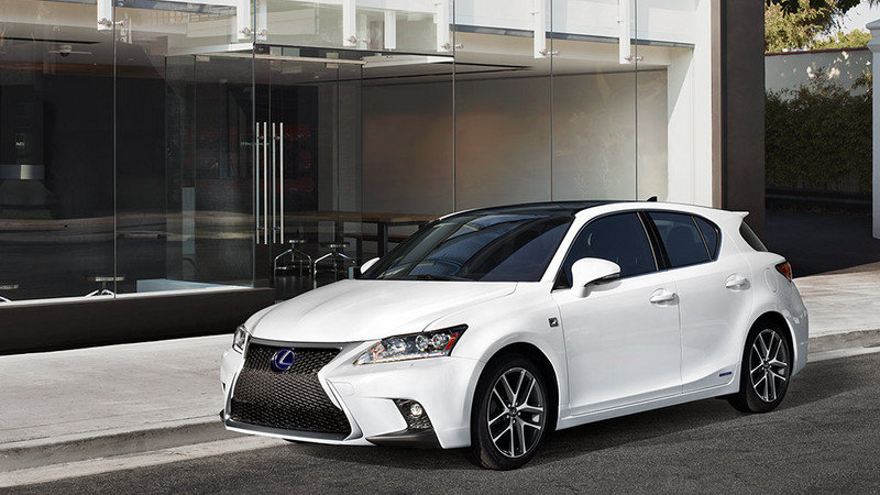 2014 Lexus CT 200h F Sport High Resolution Exterior - image 548536
