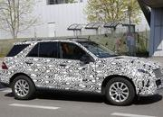 Spy Shots: 2015 Mercedes-Benz M-Class Spied Inside and Out - image 547645
