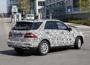 Spy Shots: 2015 Mercedes-Benz M-Class Spied Inside and Out - image 547647