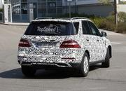 Spy Shots: 2015 Mercedes-Benz M-Class Spied Inside and Out - image 547648