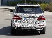 Spy Shots: 2015 Mercedes-Benz M-Class Spied Inside and Out - image 547649