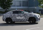 Spy Shots: Production Version Mercedes MLC Caught Testing - image 550581