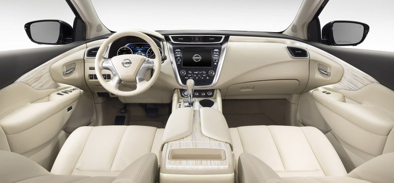 2015 - 2016 Nissan Murano High Resolution Interior - image 548787