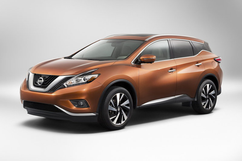 2015 - 2016 Nissan Murano High Resolution Exterior - image 548776