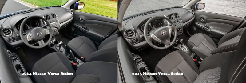 2015 - 2016 Nissan Versa Sedan Interior - image 550707