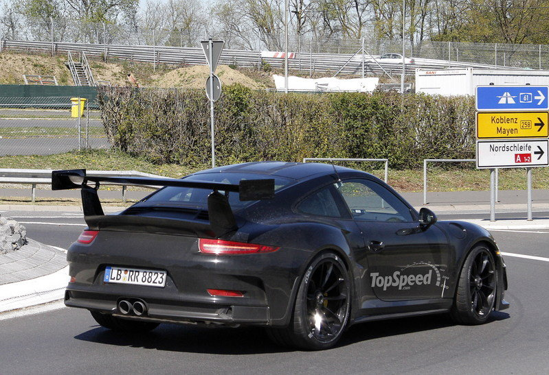 Spy Shots: Porsche GT3 RS Goes for Another Testing Session