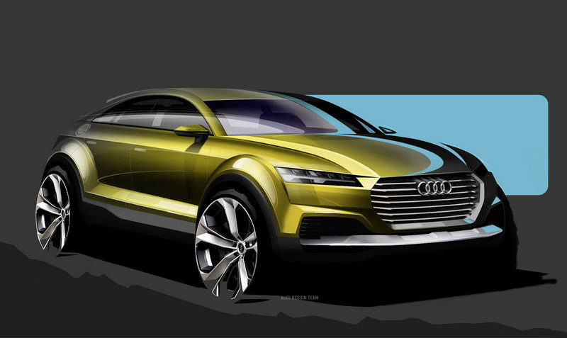 The Audi Q4 Will Supposedly Stand Out from the Lineup, But We Have Our Doubts Exterior Drawings - image 548057