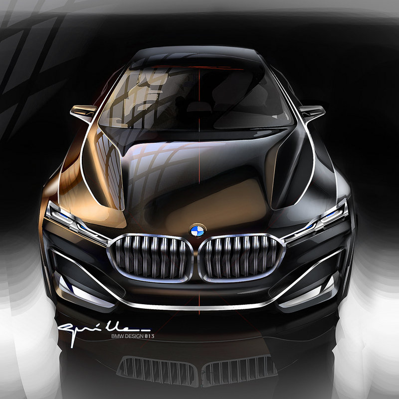 2014 BMW Vision Future Luxury Drawings - image 550228