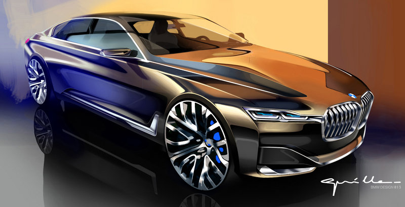 2014 BMW Vision Future Luxury Drawings - image 550229