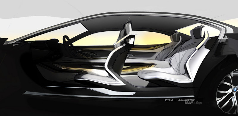 2014 BMW Vision Future Luxury Drawings - image 550236