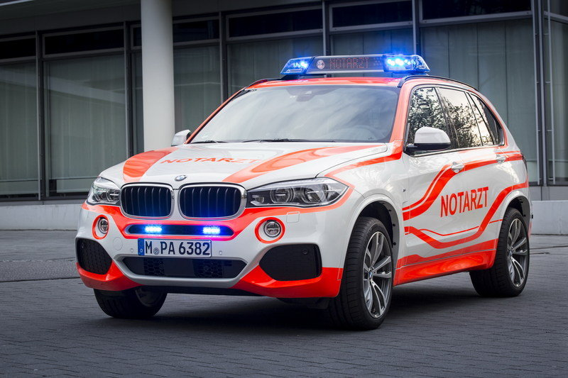 2014 BMW X5 xDrive30d Paramedic Vehicle