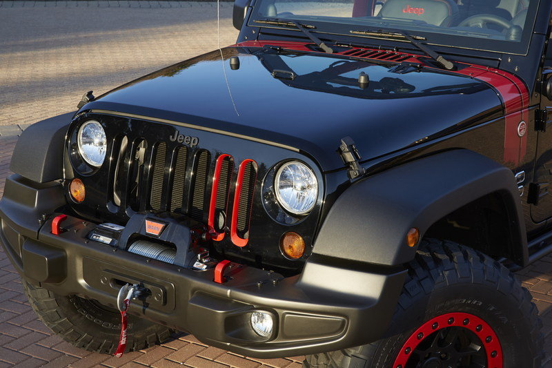 2014 Jeep Wrangler Level Red Exterior - image 548470