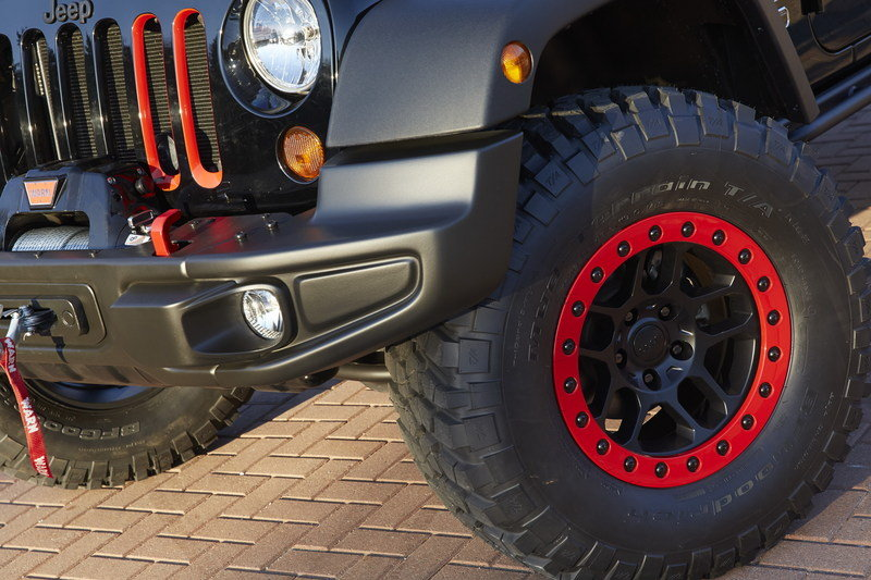 2014 Jeep Wrangler Level Red Exterior - image 548473