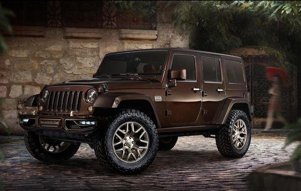 2014 Jeep Wrangler Sundancer Concept | car review @ Top Speed