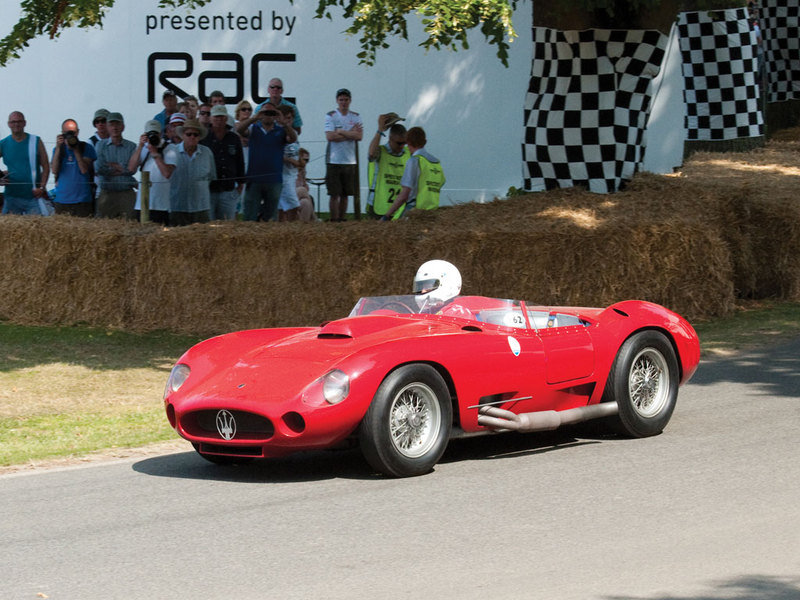 1956 Maserati 450S Prototype by Fantuzzi High Resolution Exterior - image 548106