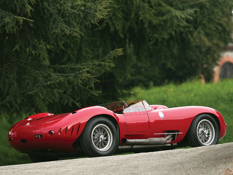 1956 Maserati 450S Prototype by Fantuzzi High Resolution Exterior - image 548081