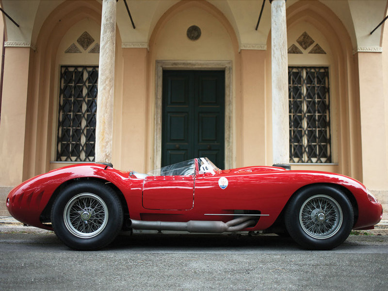 1956 Maserati 450S Prototype by Fantuzzi High Resolution Exterior - image 548084