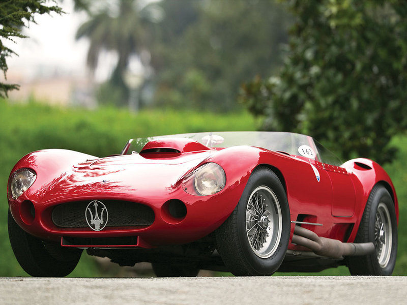 1956 Maserati 450S Prototype by Fantuzzi High Resolution Exterior - image 548080