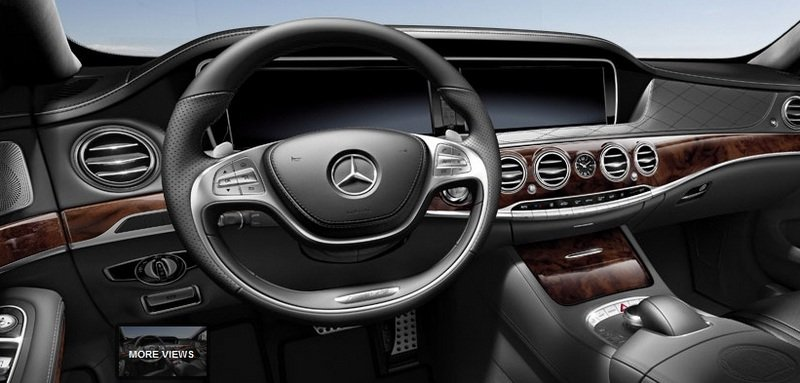 2014 Mercedes S63 AMG Configurator Launched Interior - image 548198