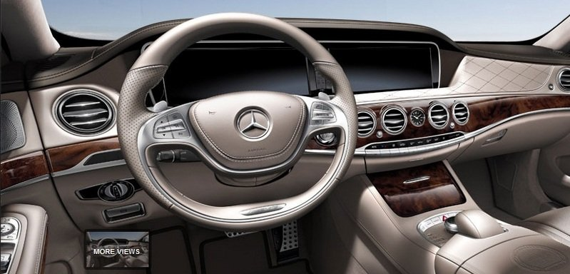 2014 Mercedes S63 AMG Configurator Launched Interior - image 548199
