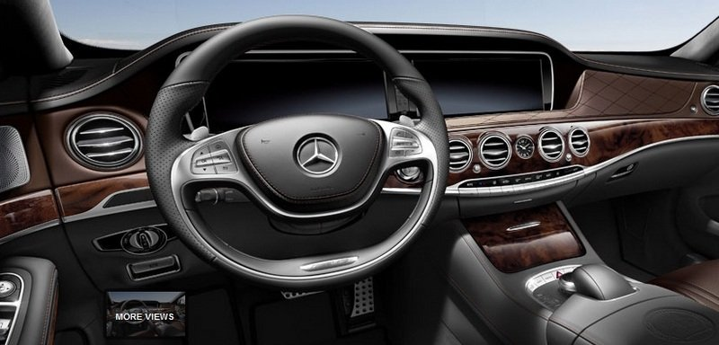 2014 Mercedes S63 AMG Configurator Launched Interior - image 548201