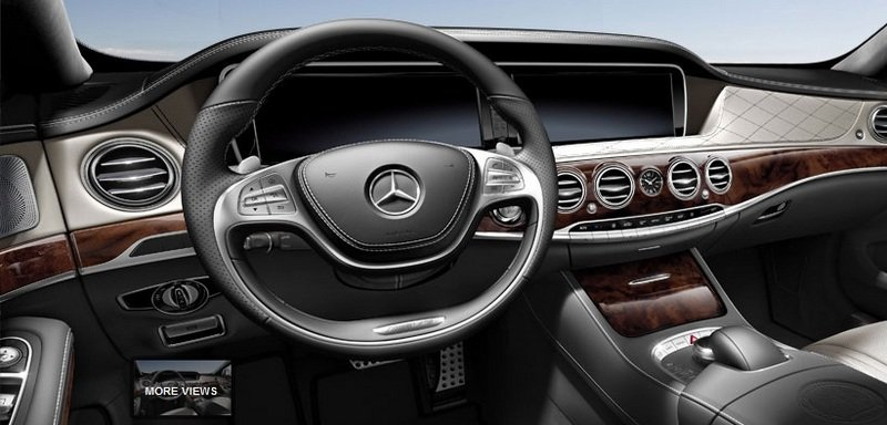 2014 Mercedes S63 AMG Configurator Launched Interior - image 548202