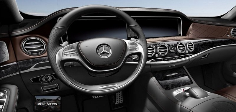 2014 Mercedes S63 AMG Configurator Launched Interior - image 548204