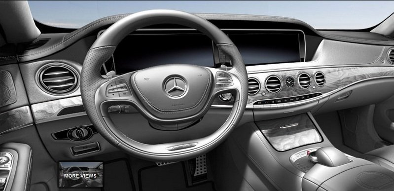 2014 Mercedes S63 AMG Configurator Launched Interior - image 548205