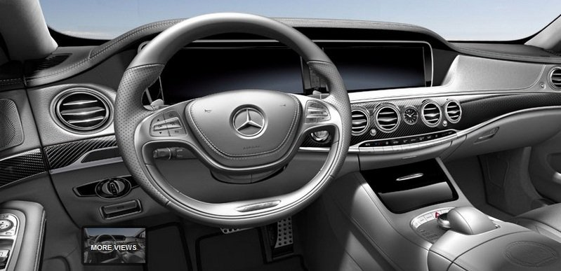 2014 Mercedes S63 AMG Configurator Launched Interior - image 548206