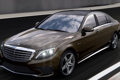 2014 Mercedes S63 AMG Configurator Launched Exterior - image 548214