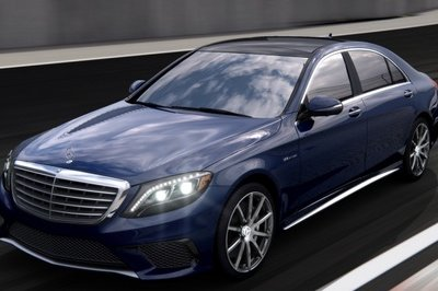 2014 Mercedes S63 AMG Configurator Launched Exterior - image 548192