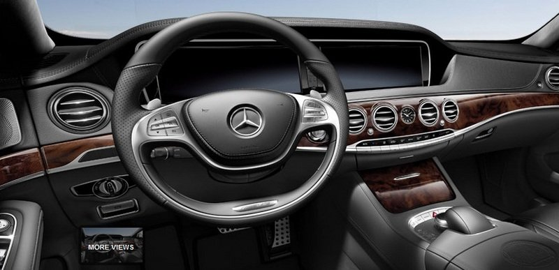 2014 Mercedes S63 AMG Configurator Launched Interior - image 548194