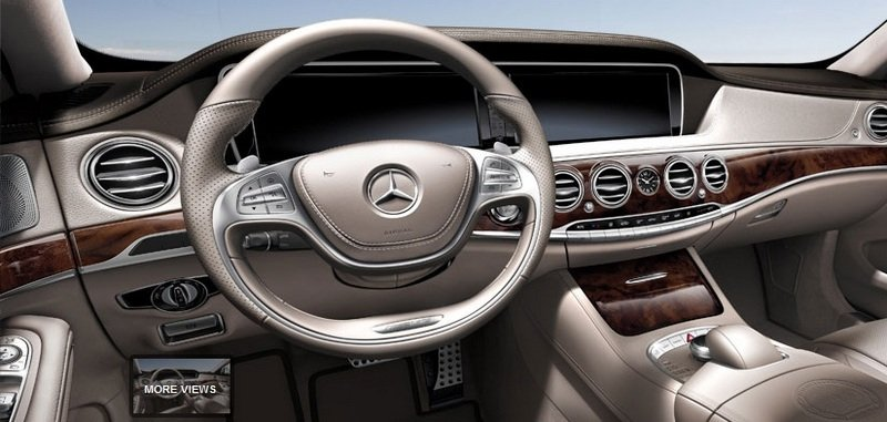 2014 Mercedes S63 AMG Configurator Launched Interior - image 548195