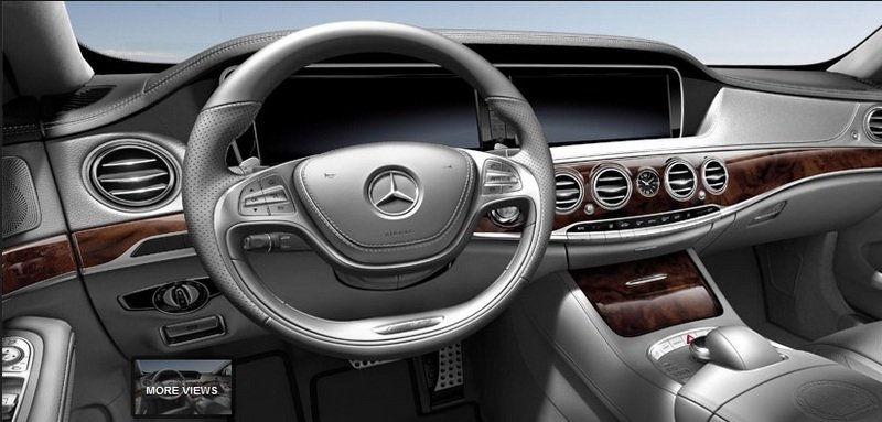 2014 Mercedes S63 AMG Configurator Launched Interior - image 548196