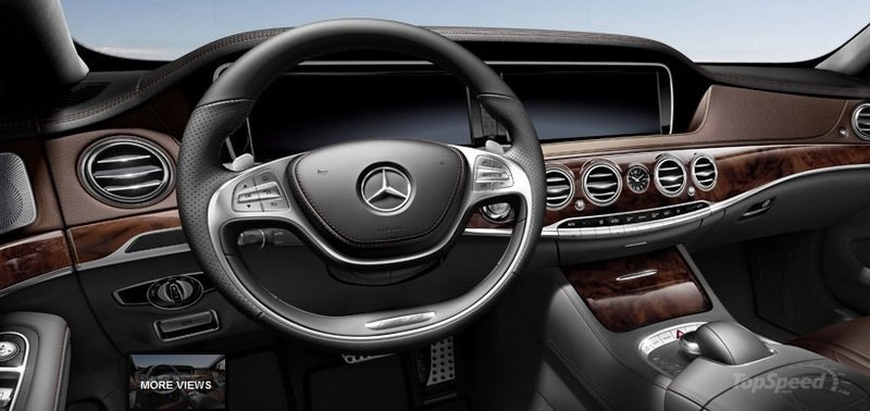 2014 Mercedes S63 AMG Configurator Launched Interior - image 548197