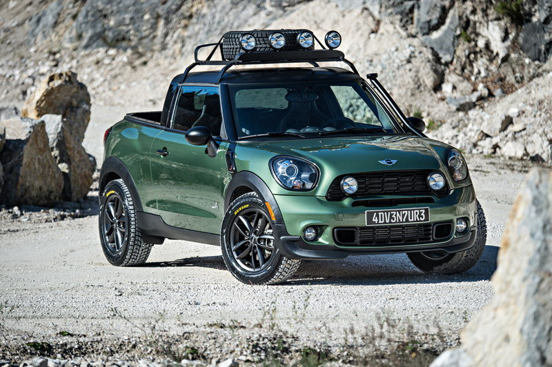 2014 MINI Paceman Adventure High Resolution Exterior - image 550767