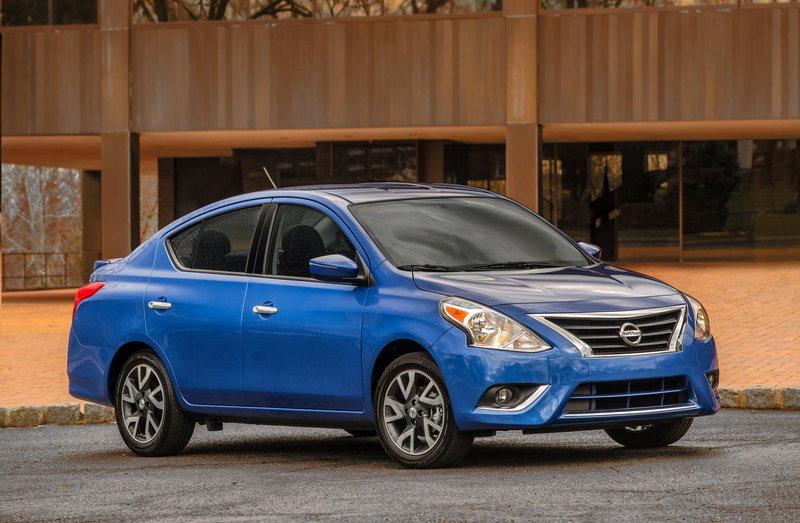2015 - 2016 Nissan Versa Sedan High Resolution Exterior - image 548602
