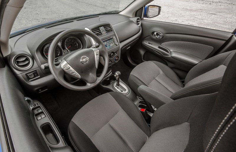 2015 - 2016 Nissan Versa Sedan High Resolution Interior - image 548607