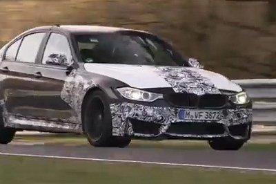 Video: BMW M3 Sounds Aggressive While Testing At Nürburgring