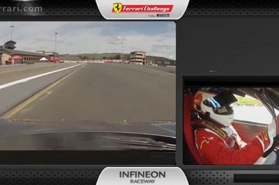 Video: Ferrari 458 Challenge Evo Driven At The Sonoma Circuit