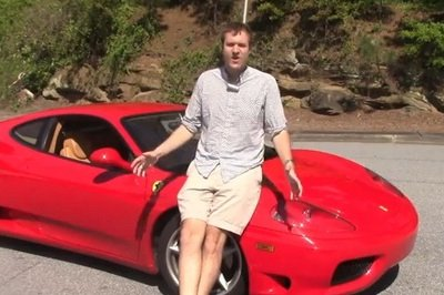 Video: Guy Invites 20 Of His Friends To Drive His Ferrari