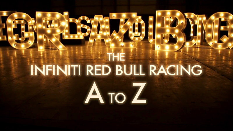 "Video: Infiniti Launches ""A to Z of Formula One"" Series"