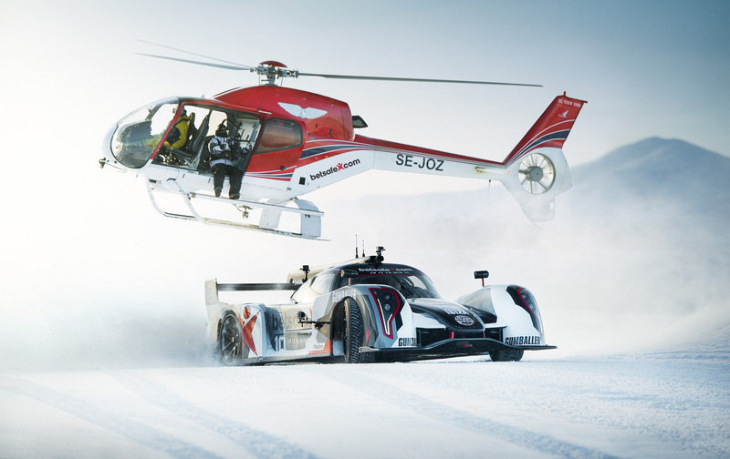 Video: Jon Olsson Drives His Rebellion R2K up a Ski Slope